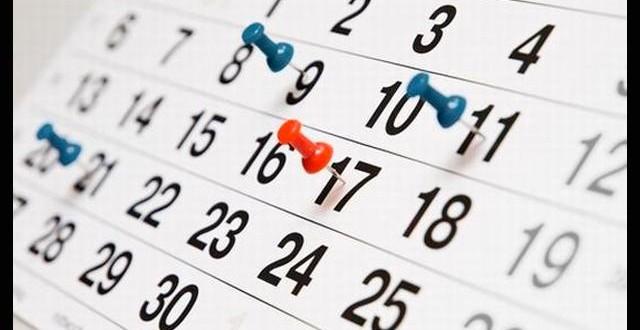 Calendari Juliol 2017
