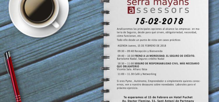 Esmorzar amb Serra Mayans Assessors – Assegurançes