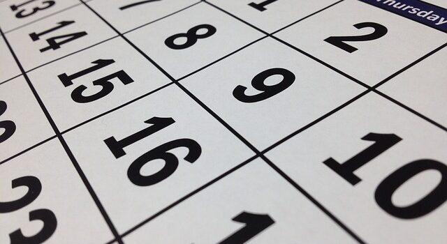 CALENDARI LABORAL AGOST 2019