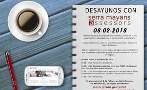 Desayuno con Serra Mayans Assessors