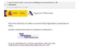 Alerta sobre falsos correos de Hacienda, Seguridad Social y entidades Bancarias