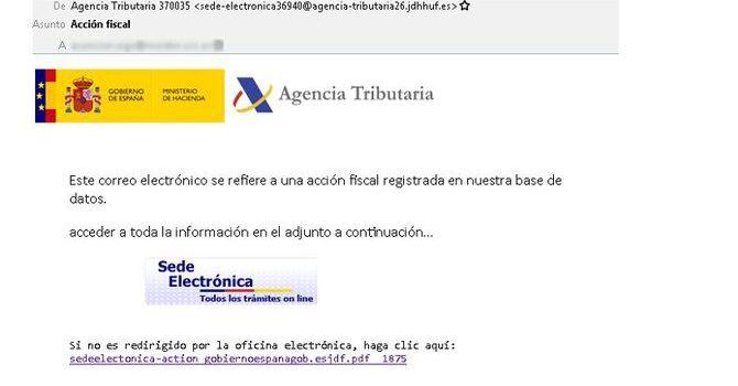 Alerta sobre falsos correus d'Hisenda, Seguretat Social i entitats Bancàries