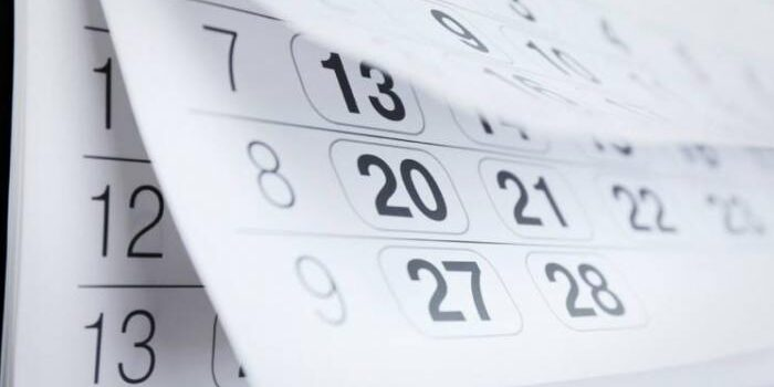 Calendario Laboral Agosto 2021