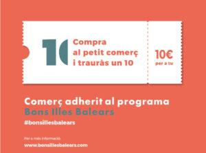 Programa de estímulo del sector comercial de la Comunidad Autónoma de las Islas Baleares «Baleares bonos de comercio» (BOIB 12/8/2021)